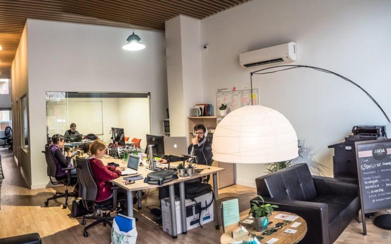 Espacios de trabajos compartidos
