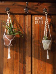 Home Forest diseños en macrame