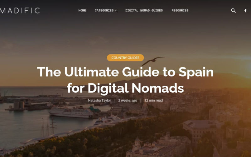 The ultimate Guide to Spain for Digital Nomads by Nomadific