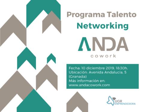 Networking en ANDA Cowork - Programa Talento