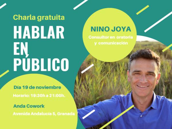 Hablar en público Nino Joya